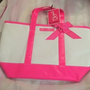 Juicy Couture tote bag. Two inside pockets
